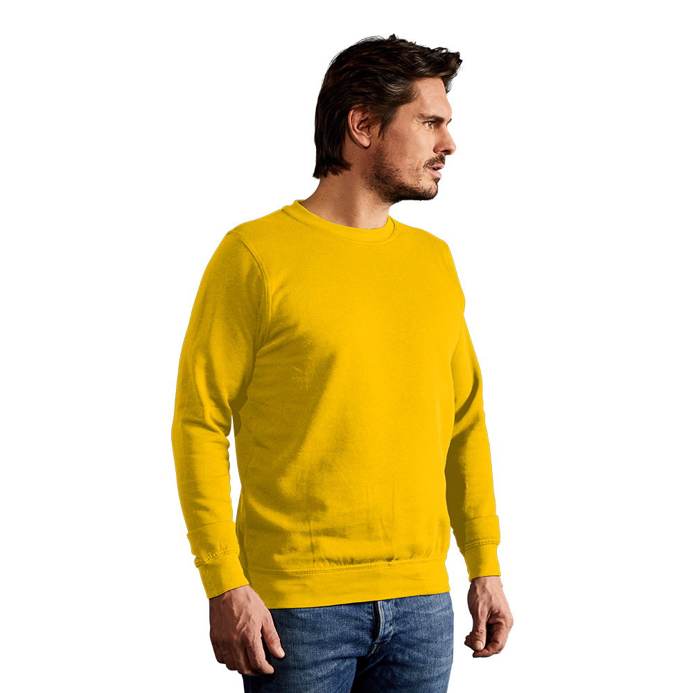 Sweatshirt 80-20 Herren, XXL, Gelb