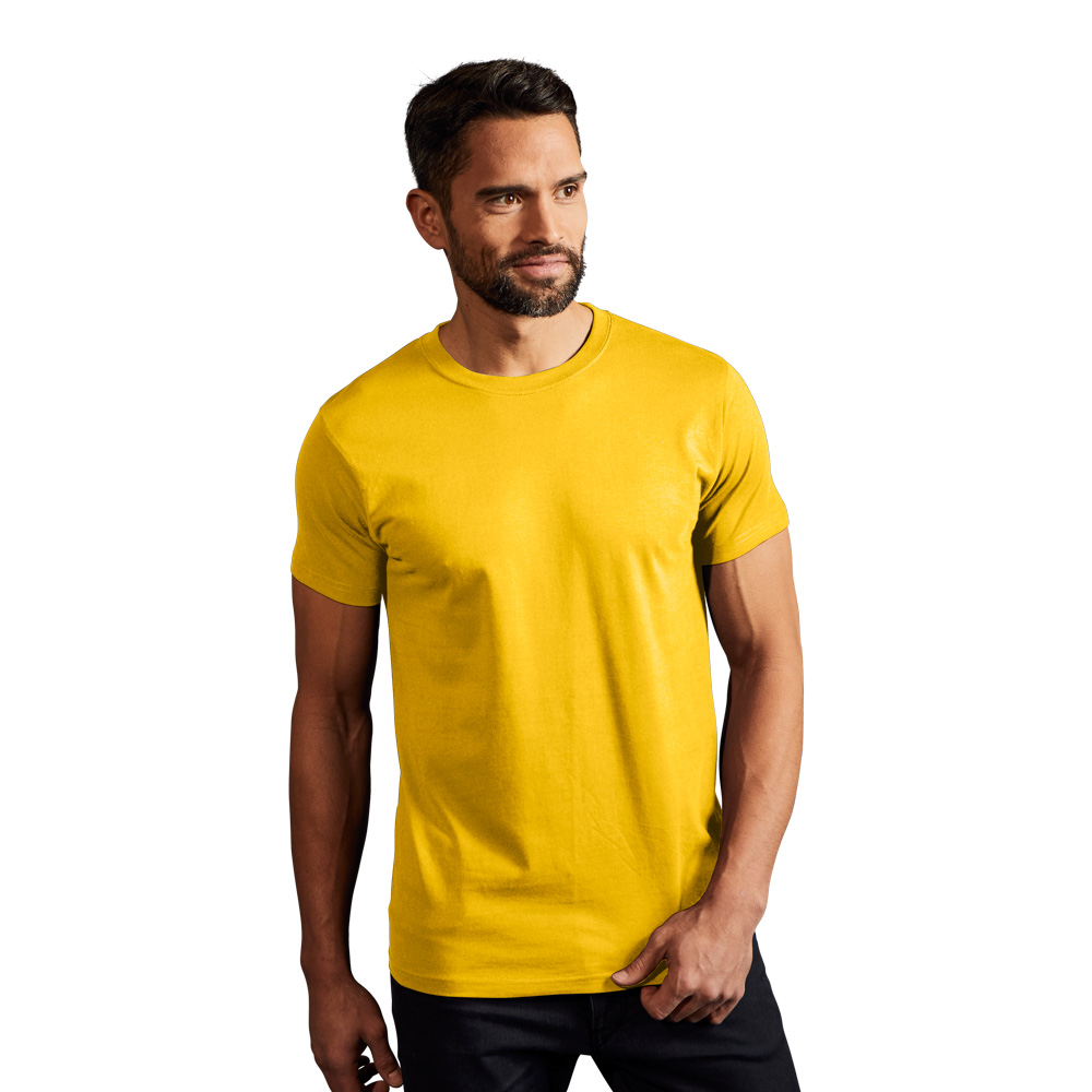 Premium T-Shirt Herren, XXL, Gelb