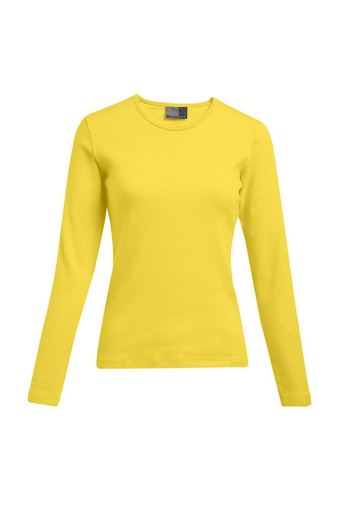Interlock Langarmshirt Plus Size Damen Sale, XX...