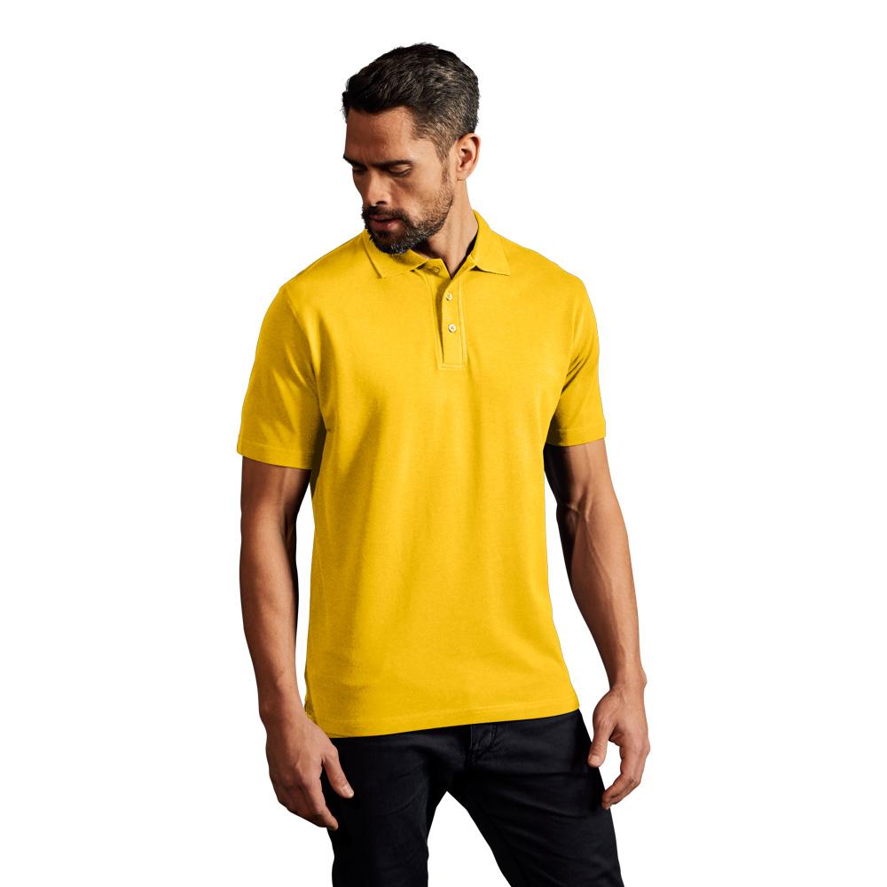 Superior Poloshirt Herren, XXL, Gelb