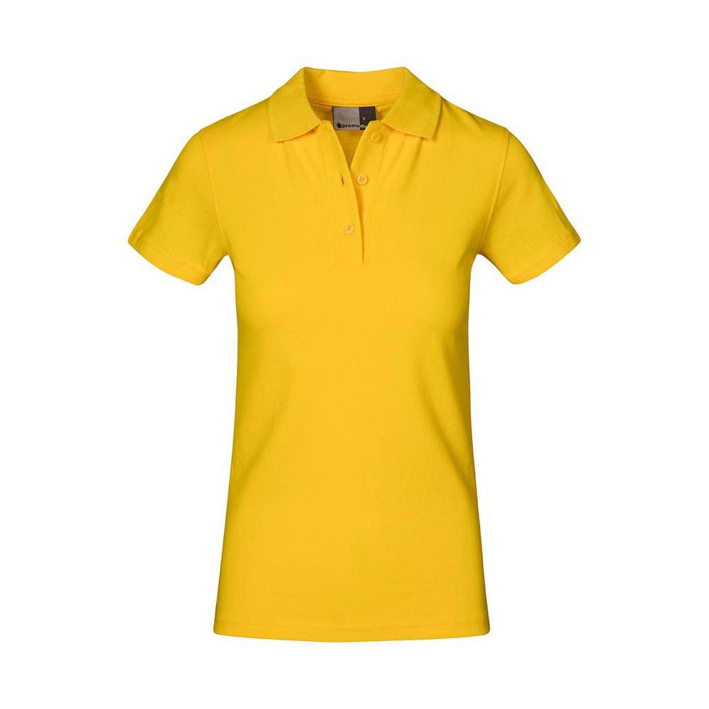 Superior Poloshirt Plus Size Damen, XXL, Gelb