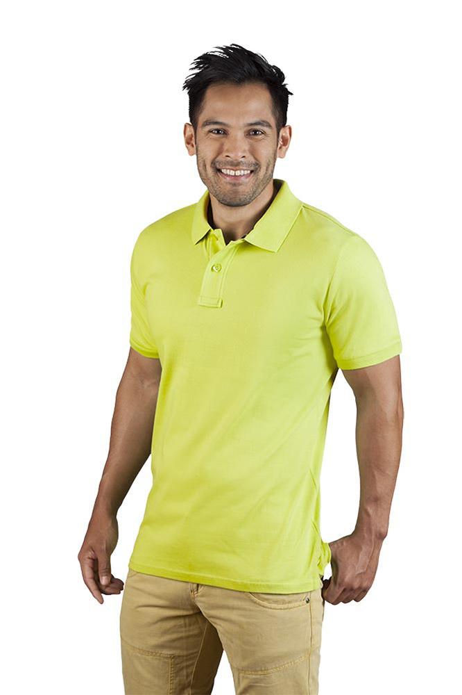 Single-Jersey Poloshirt Herren, XXL, Wilde Lime...