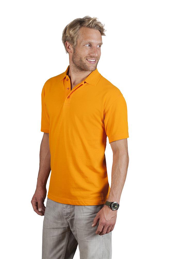 Arbeits Poloshirt 60-40 Herren, L, Orange