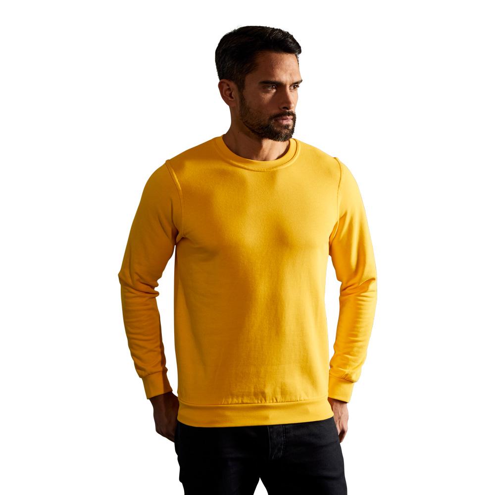 Premium Sweatshirt Herren, XXL, Gelb