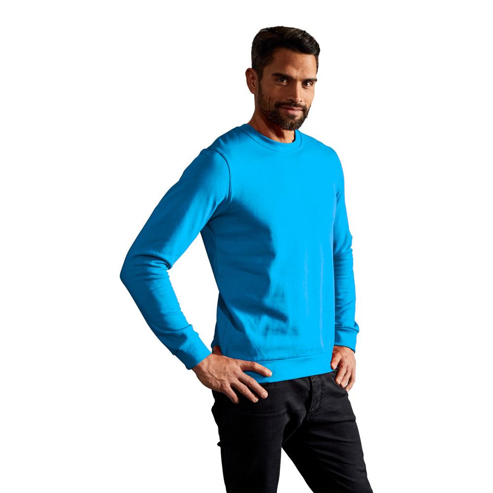 Premium Sweatshirt Herren, XXL, Türkis