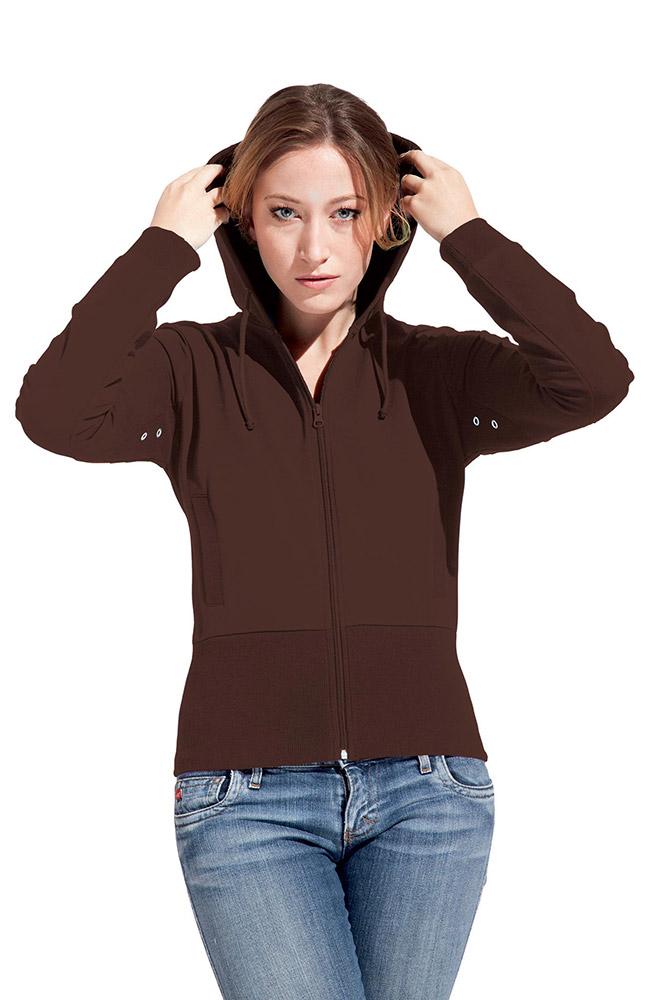 Women s Trendy Hoodie ZIPPER Zip up Hoodies Women Promodoro S ... a1d45bef73
