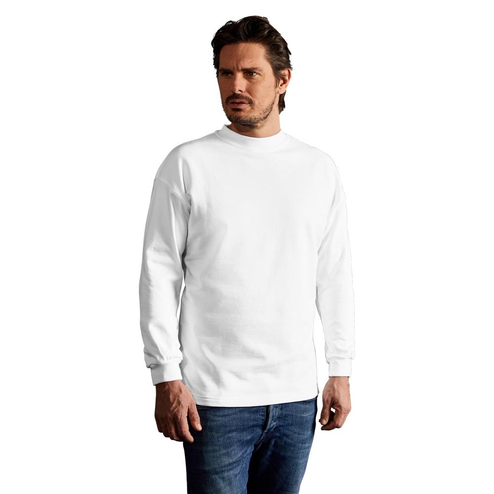 Kasak Sweatshirt Herren, L, Weiß